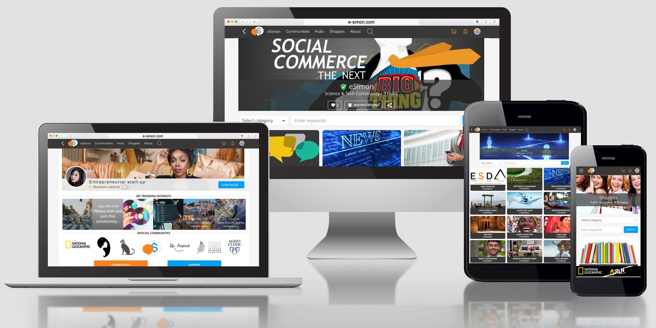 eSimon digital commerce